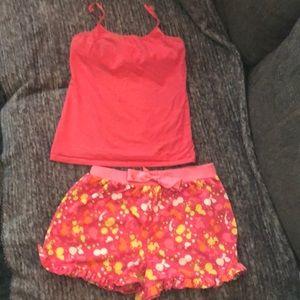 Girls Camisole and Short Set
